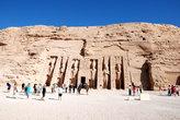 А это уже второй храм, который Рамзес построил для своей жены.