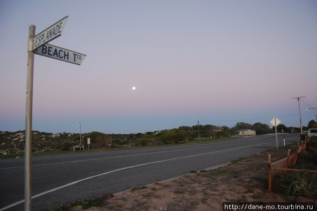 Прогулка по городу Эллистон, Австралия