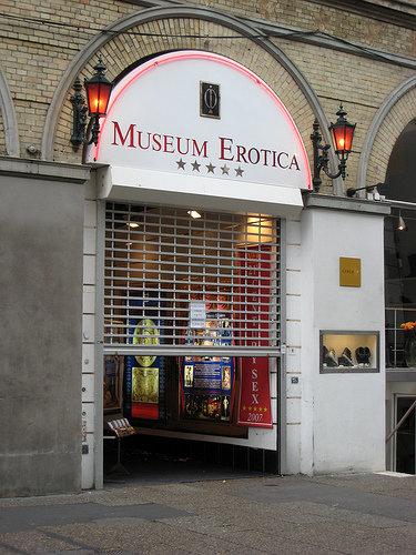 Музей Эротики (MUSEUM EROTICA) в Копенгагене был первым в мире музеем, отоб