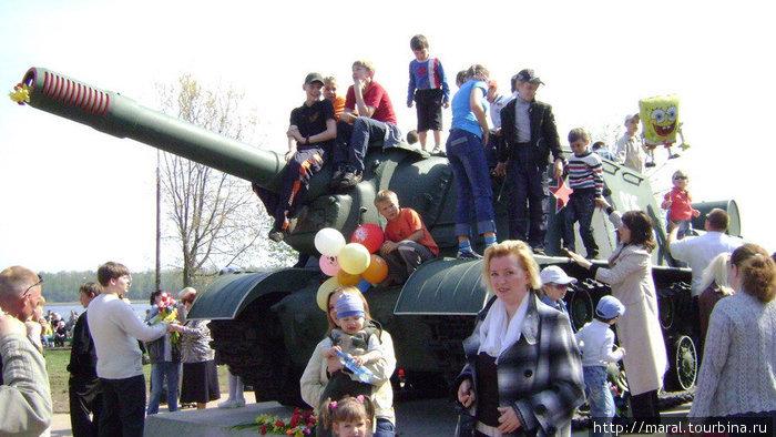 Отныне Рыбинск — один из городов России, где бережно хранится такая реликвия военного времени, как уникальная самоходка ИСУ-152