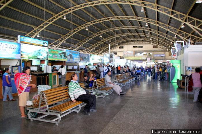 Автовокзал в Кочабамбе