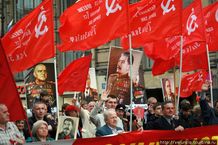 Коммунисты. За Родину, за Сталина.