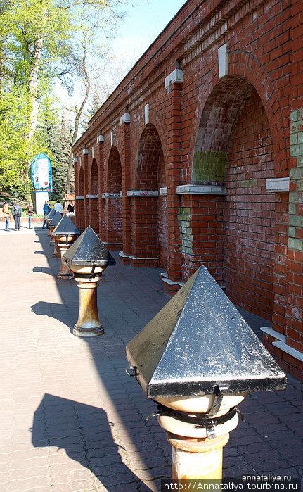 Липецк — город курорт на минеральной воде. Правда, фонтанчики не работают