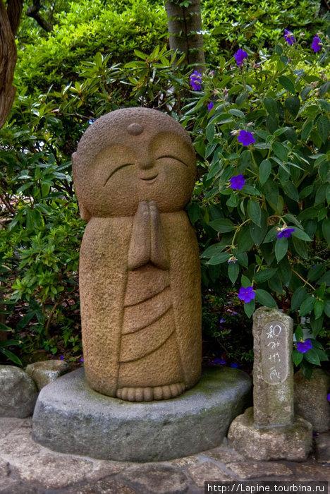 Кавайный Дзидзо в Хасэ-дэре.