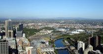 Риалто Тауэр — одно из самых высоких зданий в городе и в Австралии. На 55 этаже здания, на высоте 234 метра, располагается смотровая площадка,