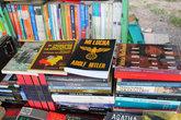 В книжной лавке есть работы разных писателей