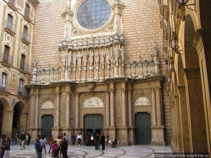 Вход в Центральный собор