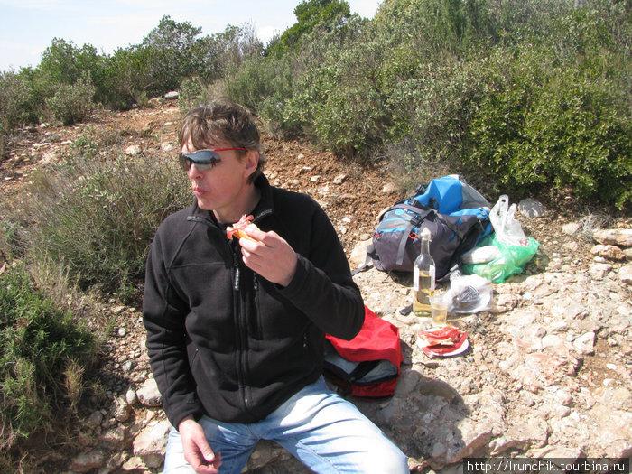 Хамон, пикник и вино