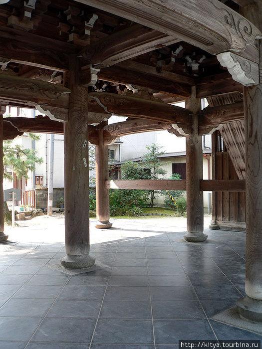 Ворота храма Тиондзи