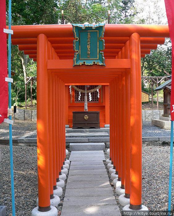 Синтоистское святилище Мотоисэ Коно