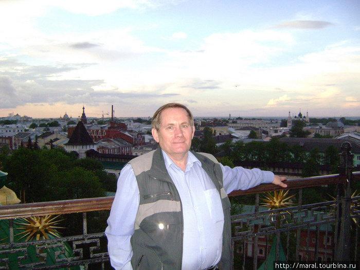В Ярославле замечательно сочетаются старина и современность