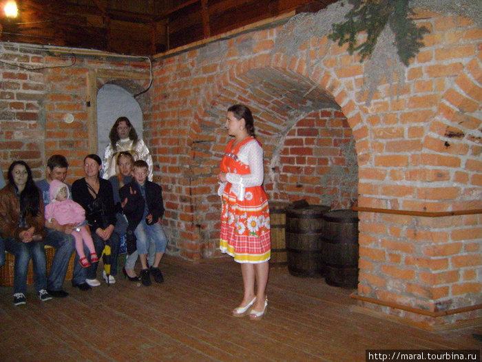Внутри Угличской башни майской ночью я оказался в гостях у сказки