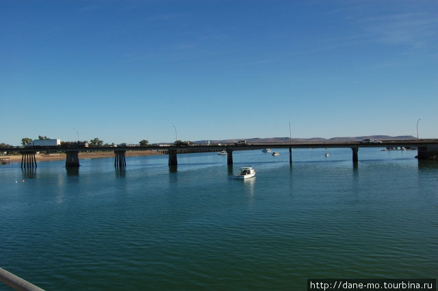 Мост через реку Порт-Огаста, Австралия