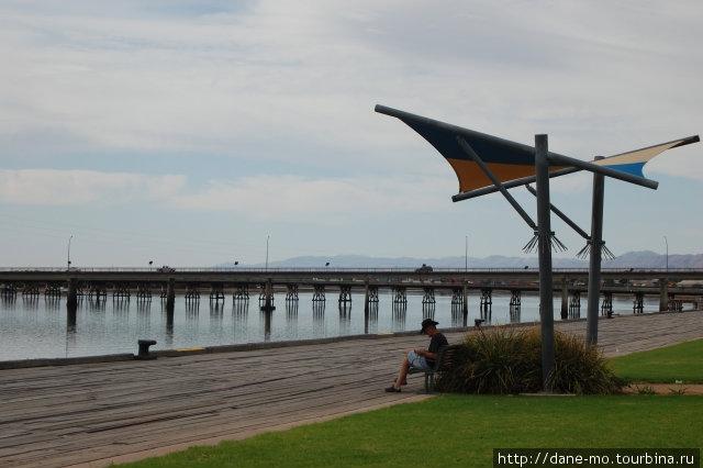 Прогулка по городу (часть 1) Порт-Огаста, Австралия