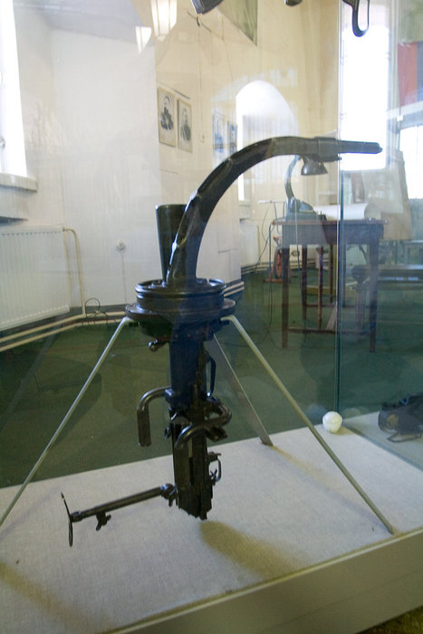 Удивтельное оружие — скругленный ствол позволяет стрелять не высовываясь из укрытия