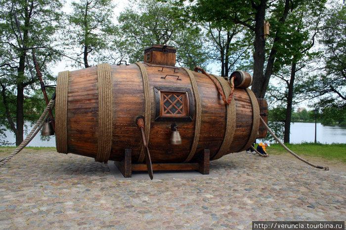 самая старая подводная лодка