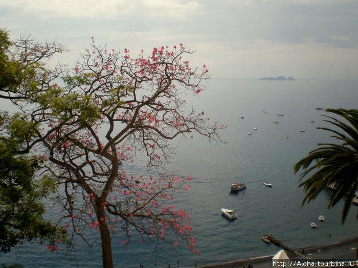 Острова Сирен на горизонт