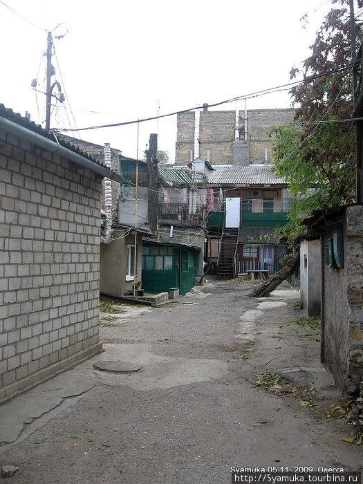Дворики Молдаванки. Молдаванка — это малоэтажный район Одессы с удивительно