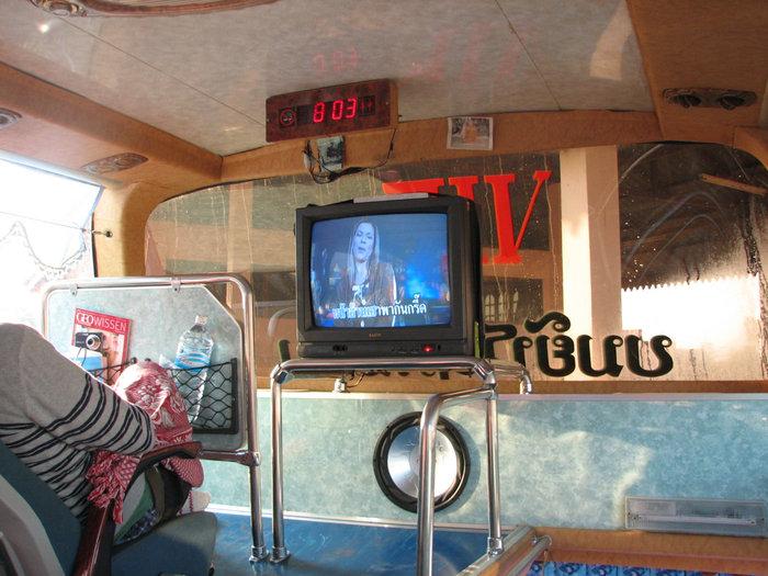 лаоский караоке в автобусе