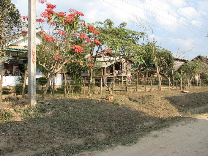 деревня по дороге