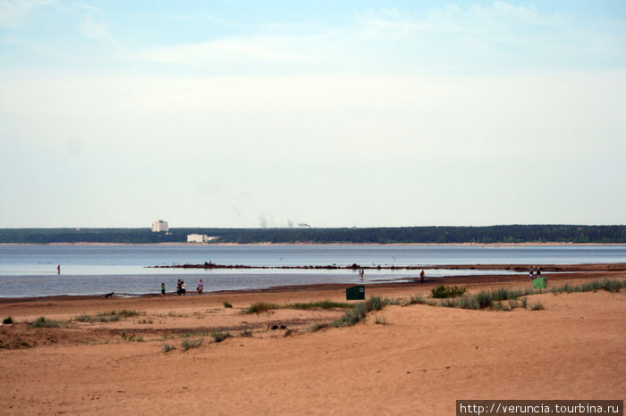 Сестрорецкий пляж.