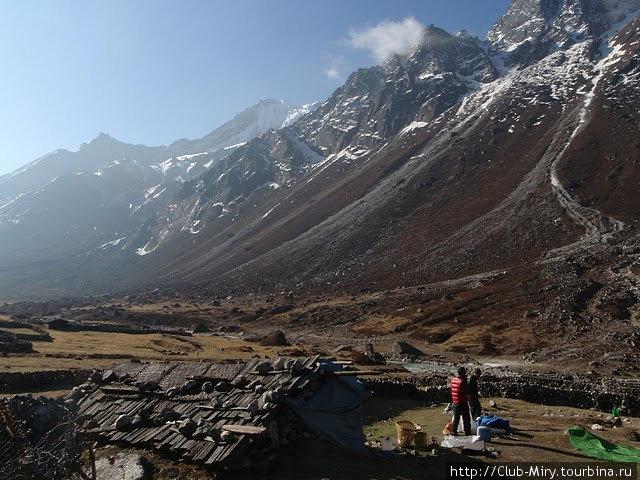 Селение На. Ключ в долину Ролвалинга. Непал.