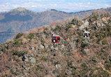 Хаконэ — горная местность, и канатные дороги здесь являются важной частью общественного транспорта.