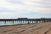 Вид с набережной на мост