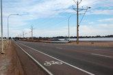 Велосипедная дорожка на окраине города