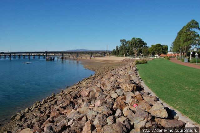 Прогулка по городу (часть 2) Порт-Огаста, Австралия