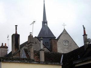 Городские крыши.