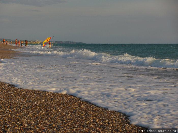 тёплое октябрьское море