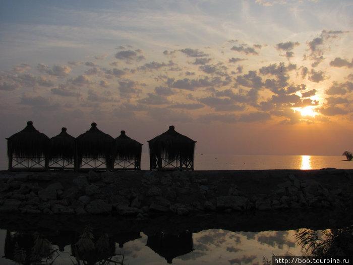 VIP домики на пляже