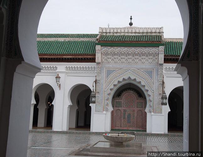Основанный в 859 году в одноименной мечети университет Аль-Карауин — старейшее в мире высшее учебное заведение. В стенах мечети-университета штудировал математику даже папа римский Сильвестр II.