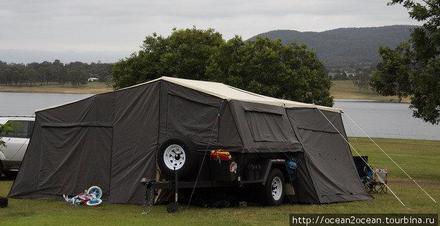 Или купить прицеп-палатку (около AUD6000).