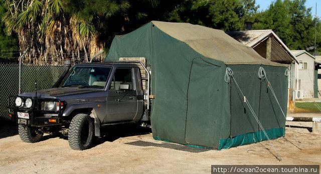 Возить палатку в багажнике.
