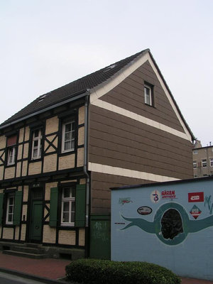 Два разных здания