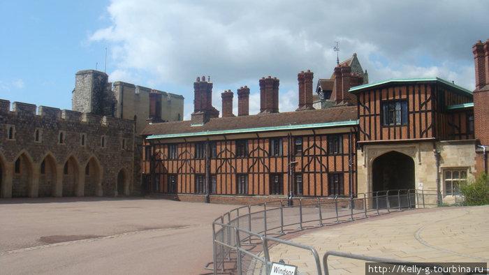 Жилые домики для служащих замка