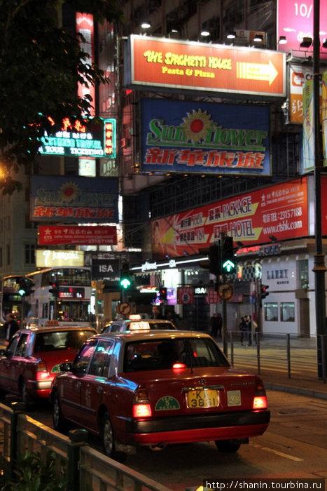Ночная улочка в Коулоне