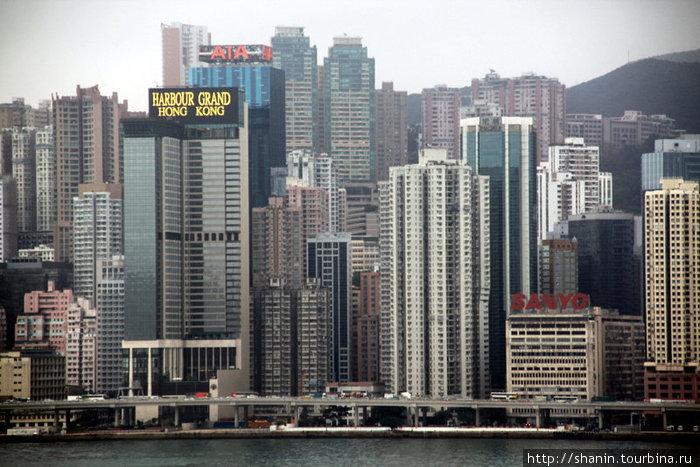 Вид на Гонконг с Коулуна