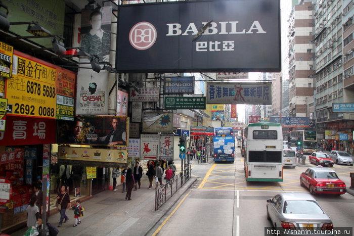 Вид со второго этажа автобуса