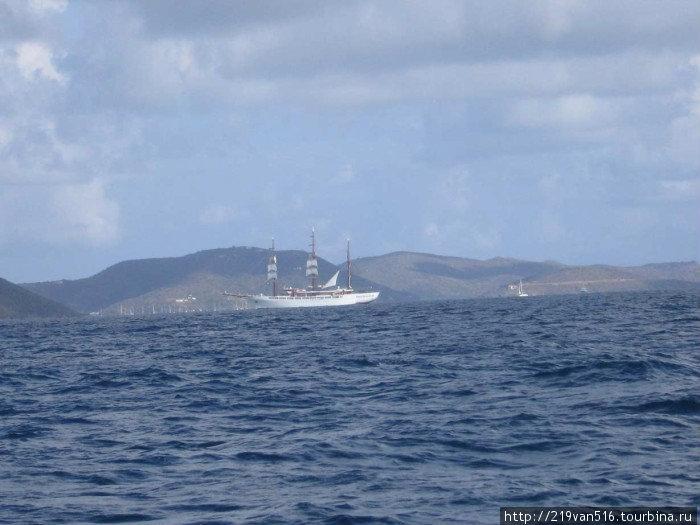 Фото 1. Британская часть Вирджинских Островов — одно из лучших мест в мире для плавания под парусом