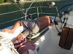 Фото 24. Спать я предпочитаю в основном на палубе...