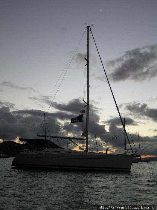 Фото 30. Роджер придает яхте небывалый шарм...
