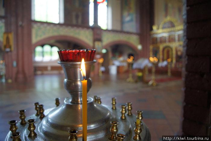 В праздник Вознесения Господня в Свято-Михайловской церкви