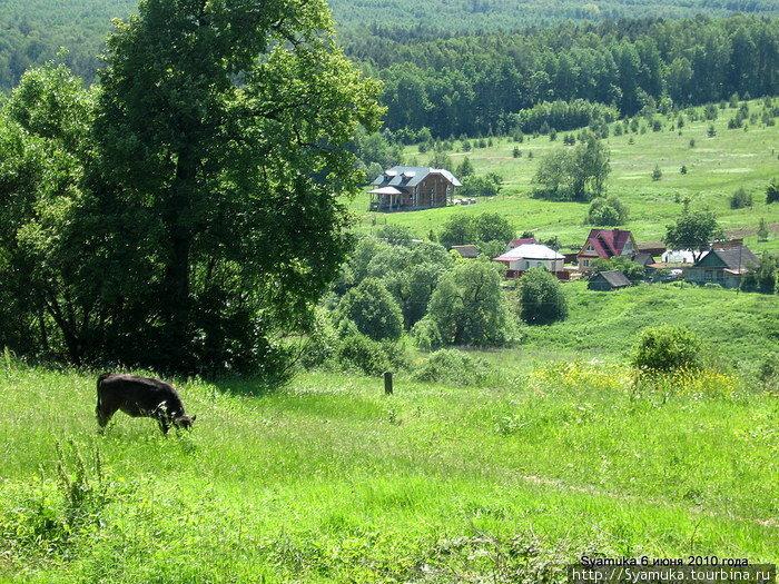Село Страхово.