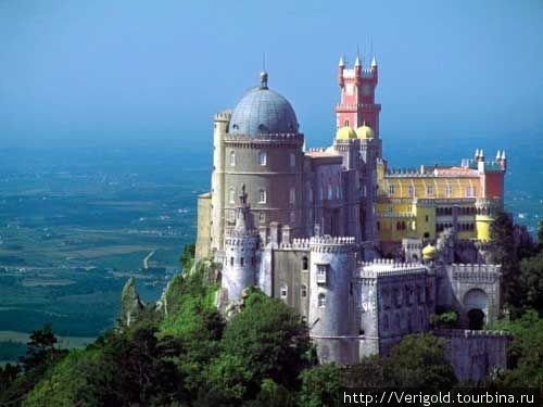 Дворец Пена — замок в облаках