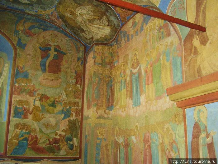 Ипатьевский монастырь. Росписи в Троицком соборе