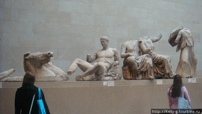 Скульптуры с Парфенона