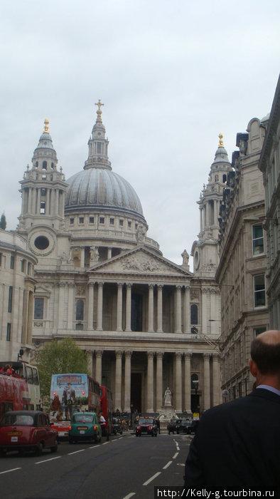 Собор Св.Павла, автобусы и служащие